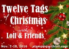 Twelve Tags of Christmas - Nov. 7-18, 2016