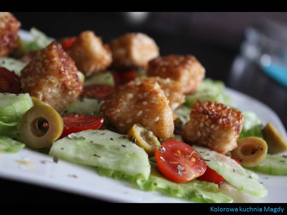 Salatka Grecka z Feta sa Atka Grecka z Serem Feta w