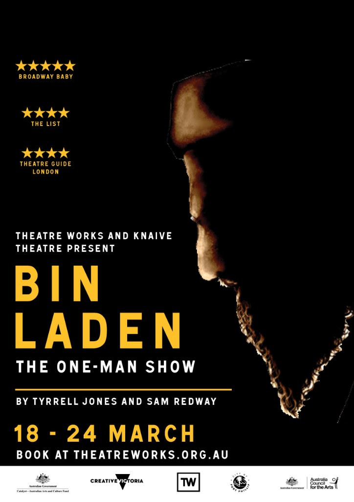 BIN LADEN: THE ONE MAN SHOW - Questioning the audience