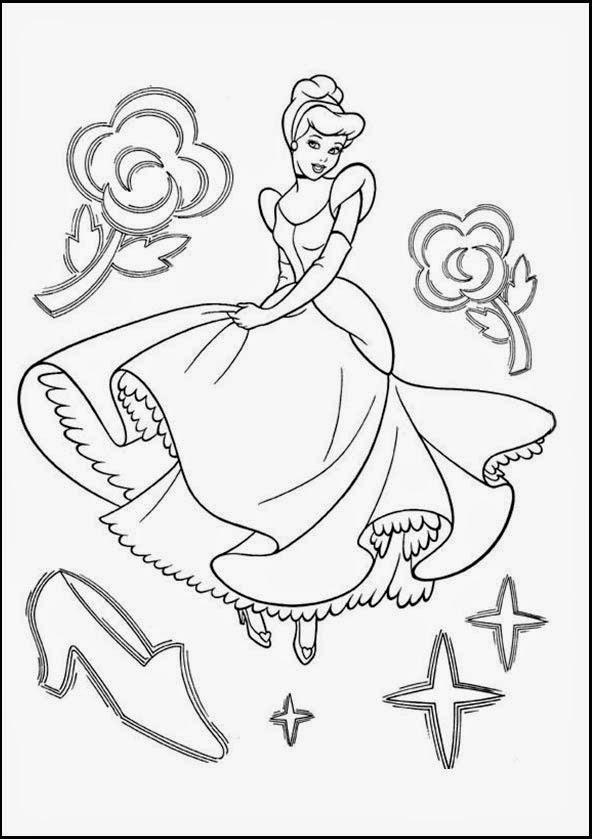 Ausmalbilder Prinzessin Bilder Zum Ausmalen