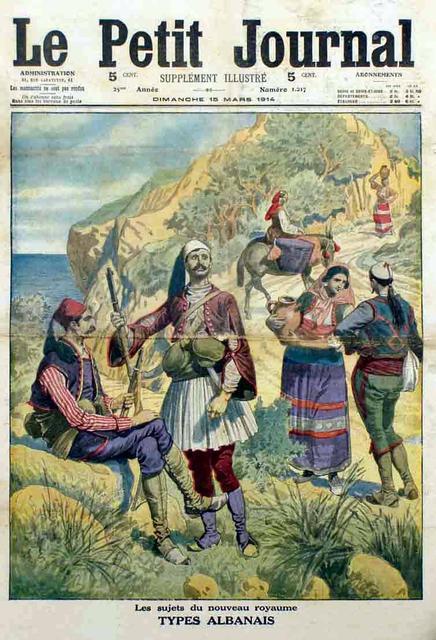 Albania nel 1914 su Le Petit Journal