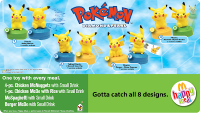 pokemon happy meal diamond & pearl