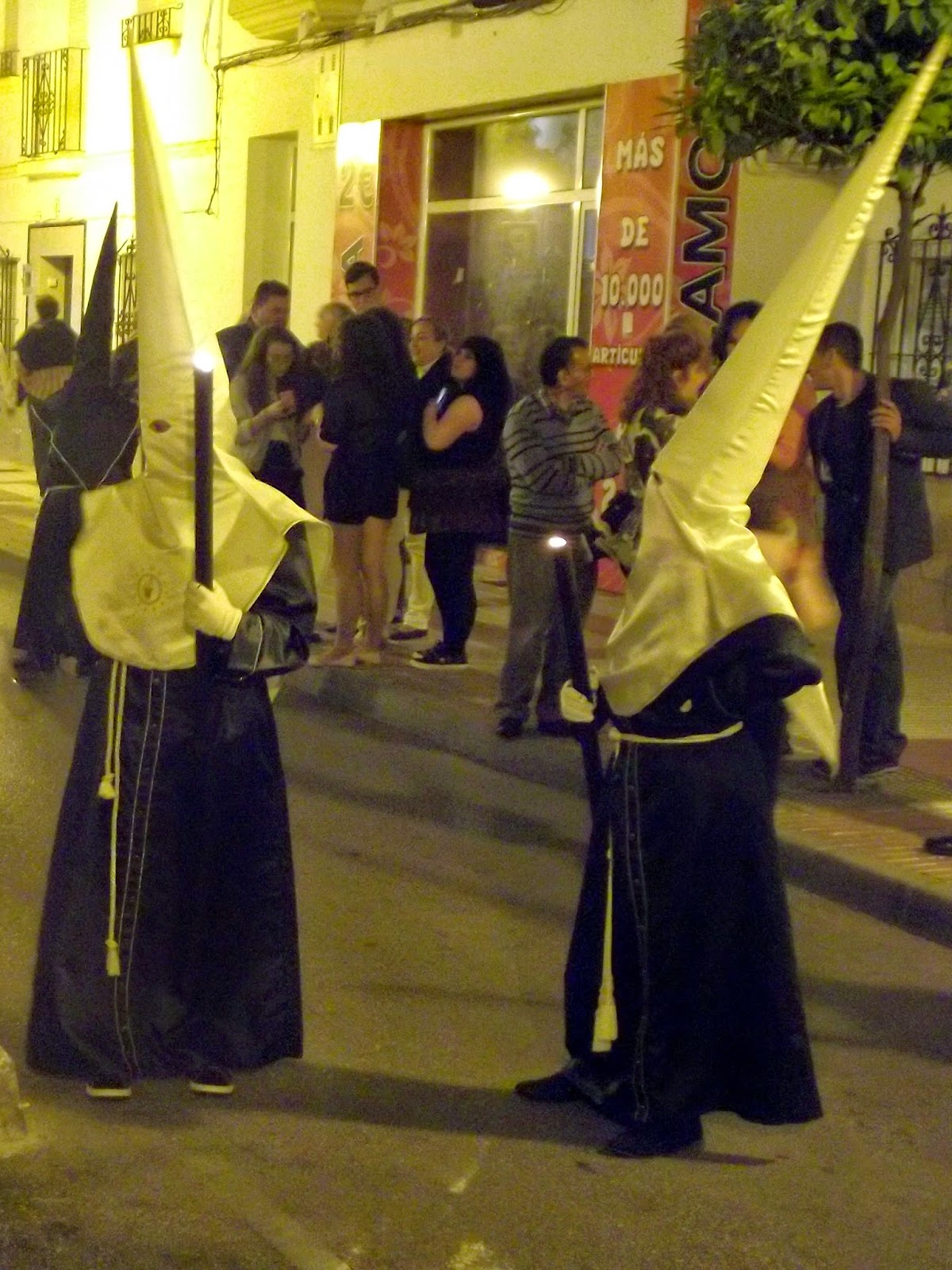 Holy Week, Passion Week, Semana Santa Malaga Processional Good Friday Penitents