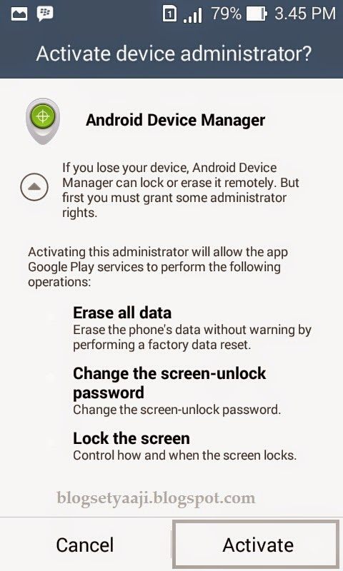Cara Mudah Melacak Hp Android Yang Hilang