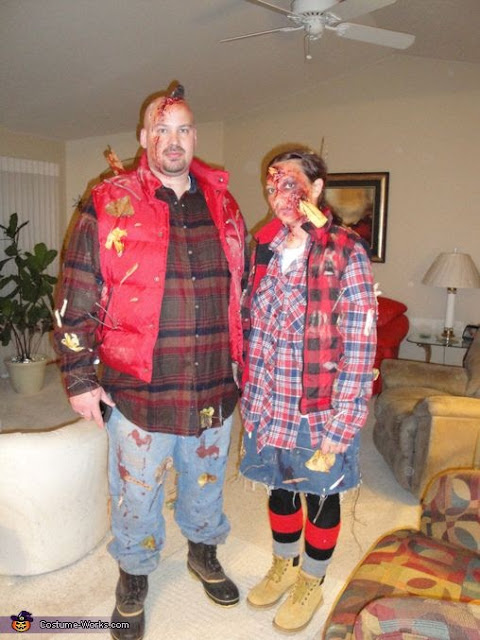 Zombie Couple Halloween