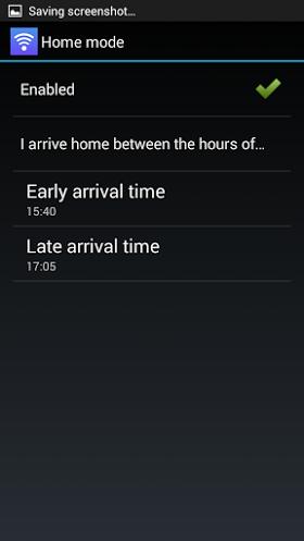 Menkind wifi iKettle Home mode settings