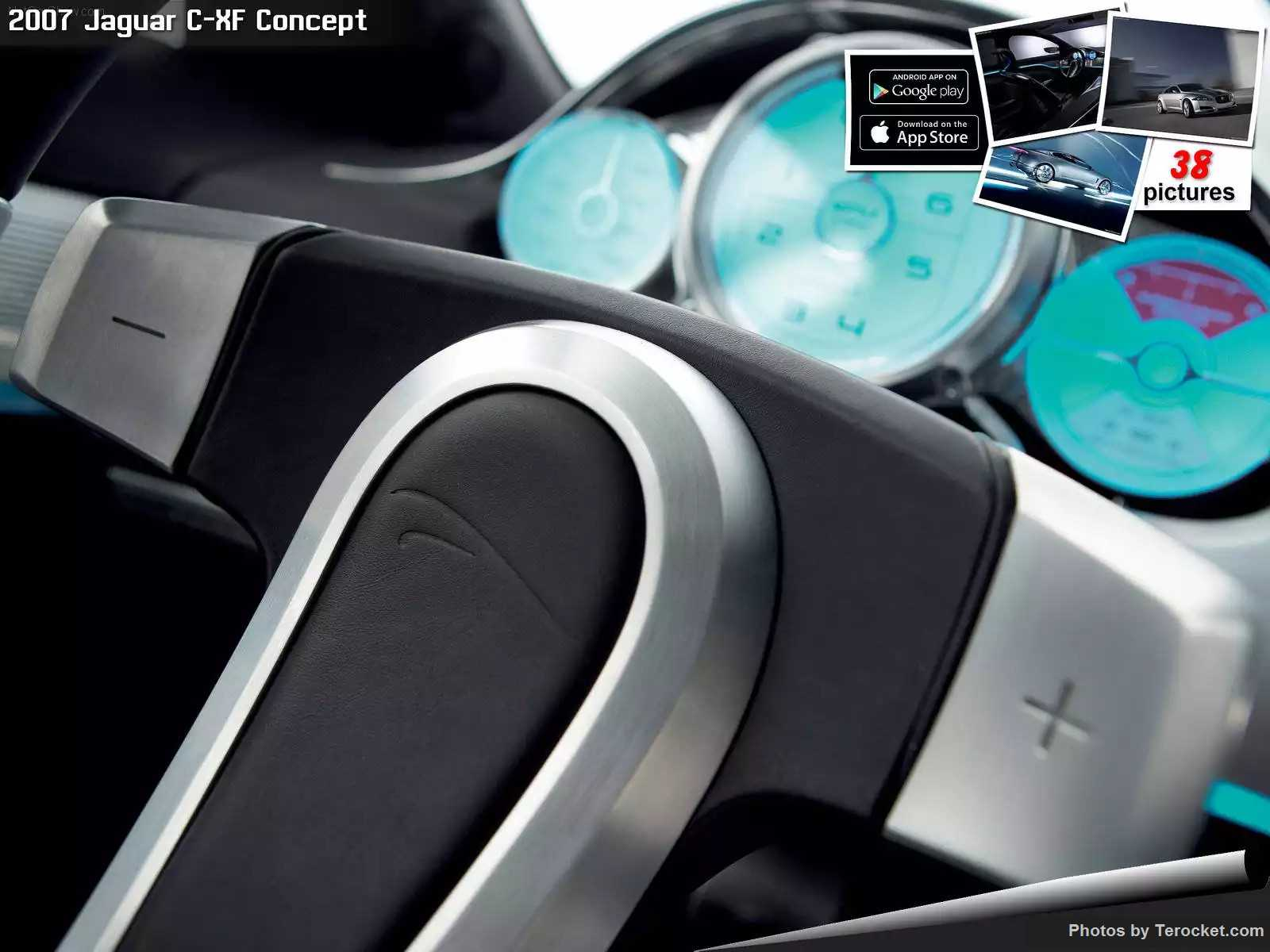 Hình ảnh xe ô tô Jaguar C-XF Concept 2007 & nội ngoại thất