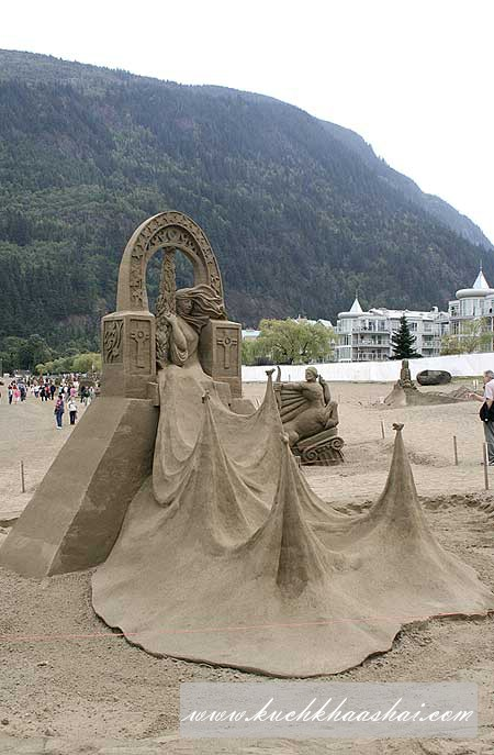 World Championship Competition of Sand Sculptures
