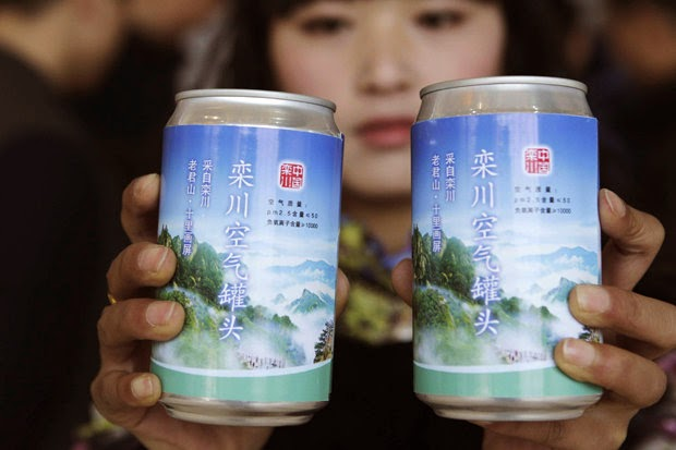 China to Sell Canned and Bottled Air to Tourists