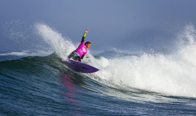 Roxy Pro France 2014 Dimity Stoyle AUS Foto ASP