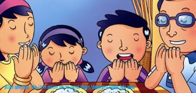 Gambar Kartun Satu Keluarga Buka Puasa - Blog Mas Hendra