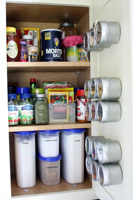 مطبخ منظم بالصور .. افكار لتنظيم ...