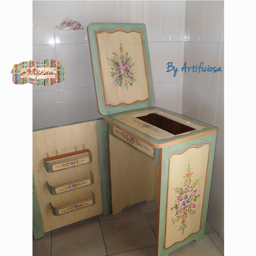 Artificiosa restyling mobiletto macchina per cucire - Mobili per macchine da cucire ...