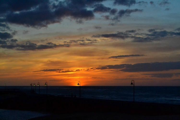 cadiz sunset atlantic ocean atardecer oceano atlantico