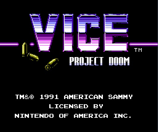 vice project doom Vice: project doom is a game that features side-scrolling platform sequences, overhead driving modes and rail-shooter stages in driving stages hart's vehicle can.