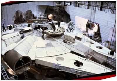Halcón Milenario listo septima entrega Star Wars