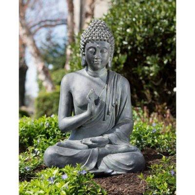 Garden buddha statues thai buddha garden statue for Outdoor buddha