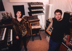 Here are composers Starr Parodi and Jeff Eden Fair. The name 'Starr Parodi' sounds like the title of some BBC sketch comedy show where British comedians attempt to do impressions of American celebrities and can barely hide their British accents.