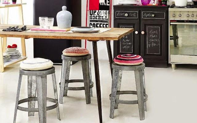 Vintage design medina flor z septiembre 2014 for Decorar office cocina