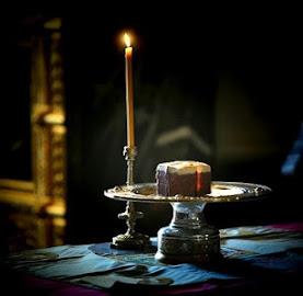 Θεία Λειτουργία Προηγιασμένων Δώρων που τελείται κάθε Τετάρτη και Παρασκευή Μ. Σαρακοστή