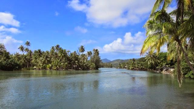 Lac Fauna Nui à Huahine Polynesie