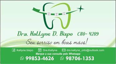 Consultório Odontológico Dra. Kallyne D. Bispo
