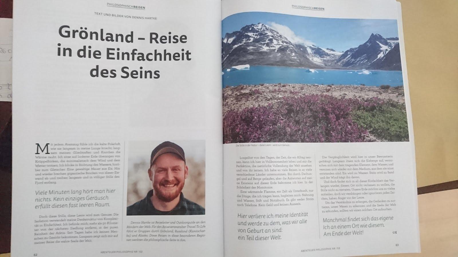 Grönland - Abenteuer Philosophie