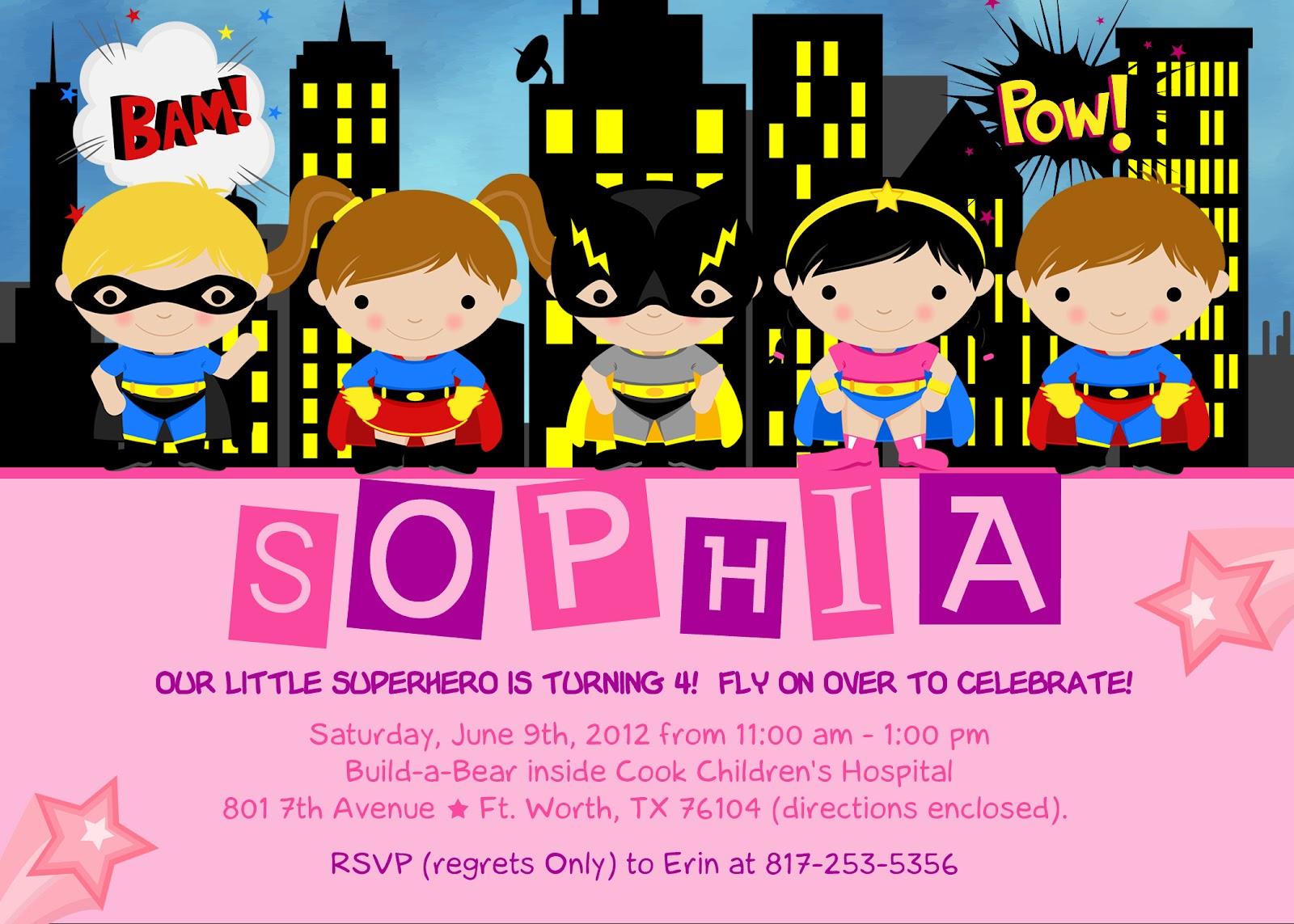 The Kaminski Chronicles: Happy Birthday (Party)....Super Sophia!
