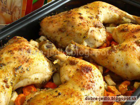 Voňavé kurča - recepty