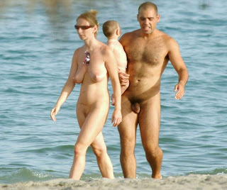 man Nude beach