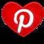 Estou também no Pinterest!