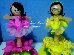 canetas decorada bailarinas