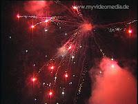 Firework in St. Johann in Tyrol - Austria