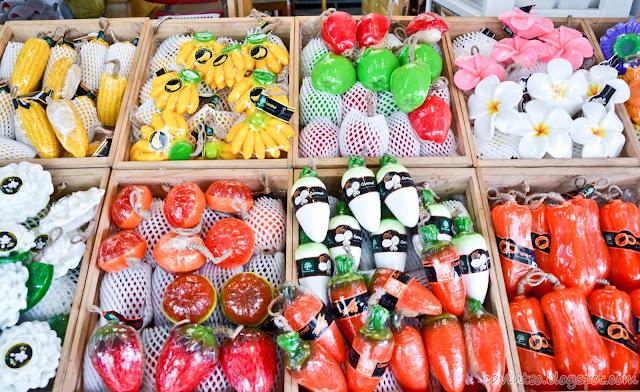 Soaps from Bangkok
