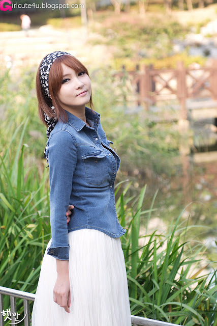 7 Jang Jung Eun - Outdoor-very cute asian girl-girlcute4u.blogspot.com