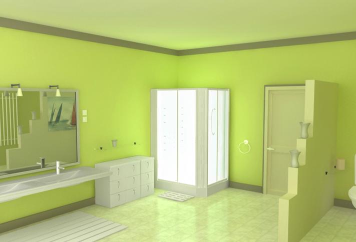 peinture pour salle de bain peinture salle bain sur enperdresonlapin. Black Bedroom Furniture Sets. Home Design Ideas