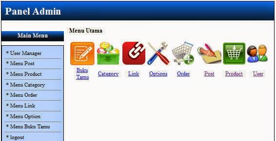 Contoh Web Ecommerce dengan PHP - Seputar Teknologi Informasi