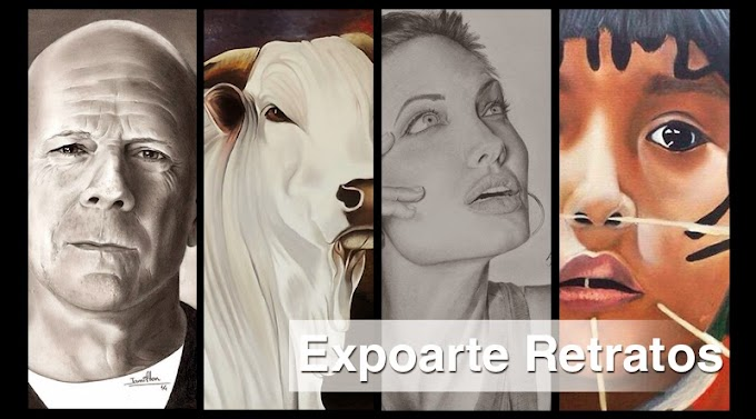 Expoarte Retratos no Shopping Uberaba