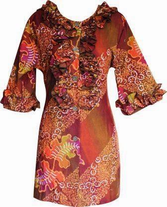 Foto Baju Batik Rempel