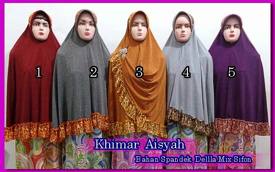 Grosir Hijab Syar'i Online Terbaru Harga Murah