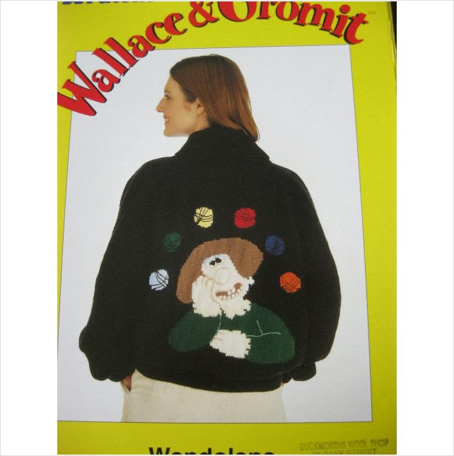 Wallace And Gromit Knitting Pattern : V & M: Wallace and Gromit knitting patterns