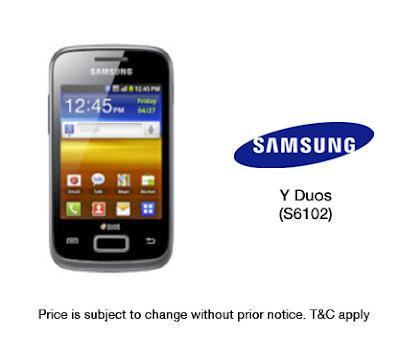 Samsung galaxy y duos gt-s6102 Hp Android Harga Spesifikasi 2013