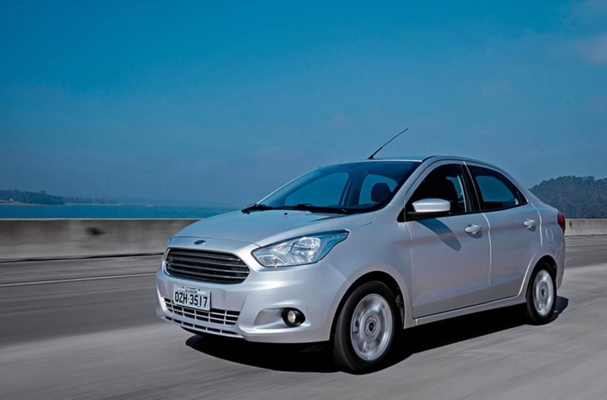 Novo Ford KA+ (Sedã) - prata
