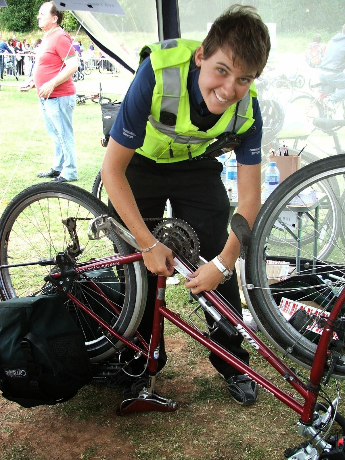 Bike marking and registration