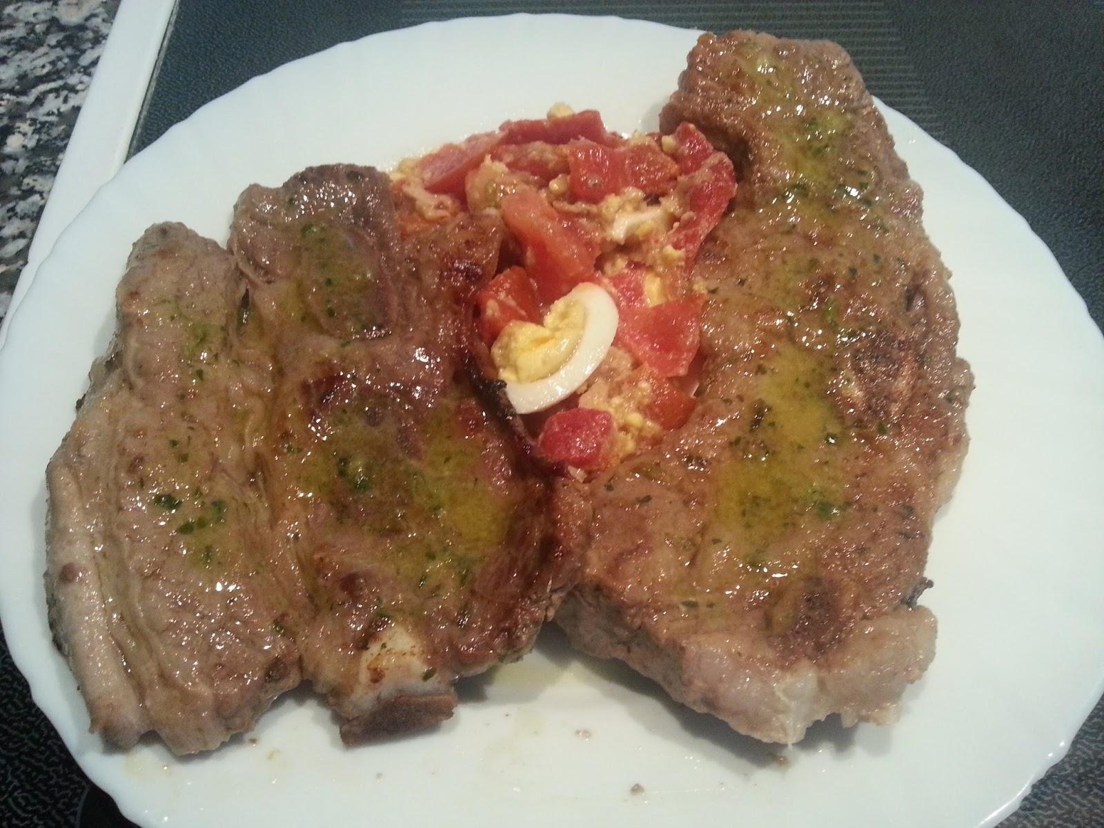 Recetas de toda la vida cocinar sencillo como me ense mi madre churrasco de ternera a la - Salsa para ternera a la plancha ...