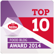 Food Blog Award Top 10