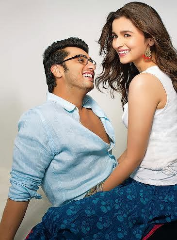 First look poster and still of Arjun Kapoor and Alia Bhatt starrer '2 States'!