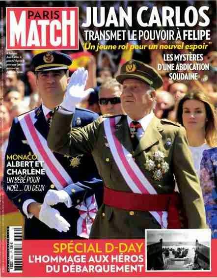 Juan Carlos Felipe-abdication-Bourbons Espagne