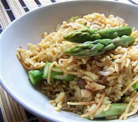 Asparagus Cashew Rice Pilaf Recipes