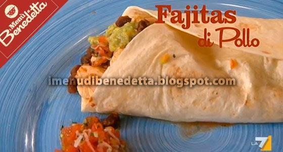 Fajitas di pollo la ricetta di benedetta parodi for Ricette messicane